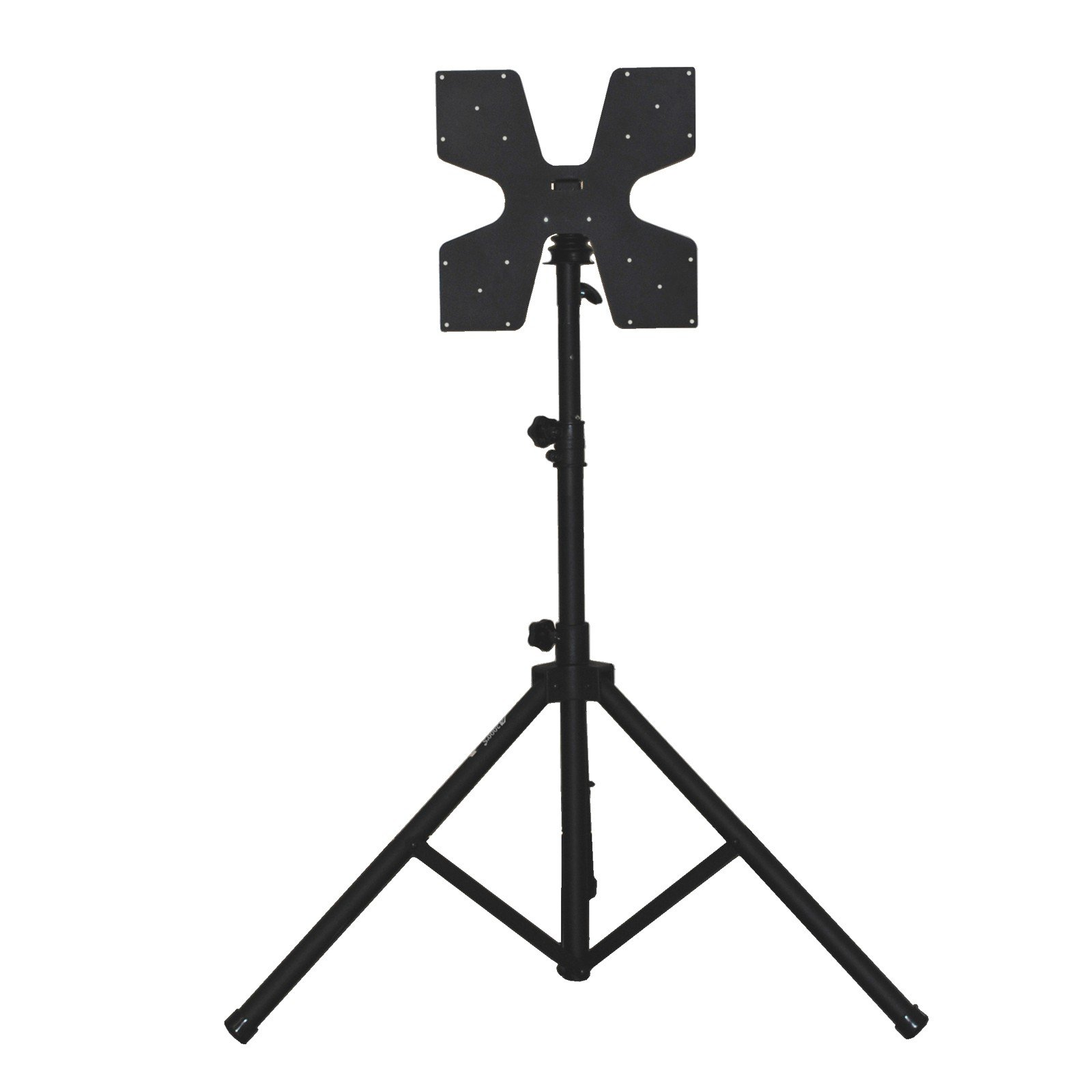 Audio 2000 AST424Y Portable Flat Panel LCD TV Stand with Foldable Tripod Legs