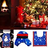 Junbuoom Hot DIY Craft Charming Rug Xmas Decor Santa Toilet Seat Cover Bathroom Supplies