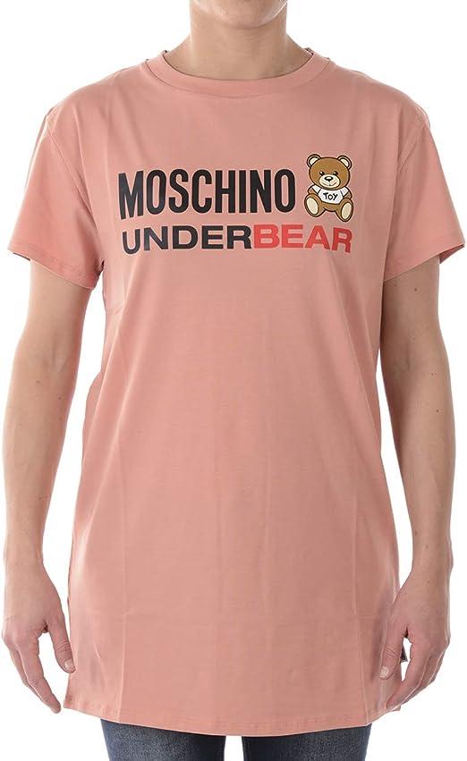 NEW Fashion Men/&Women's Moschino Pin Bear Short Sleeve Tee T-Shirt