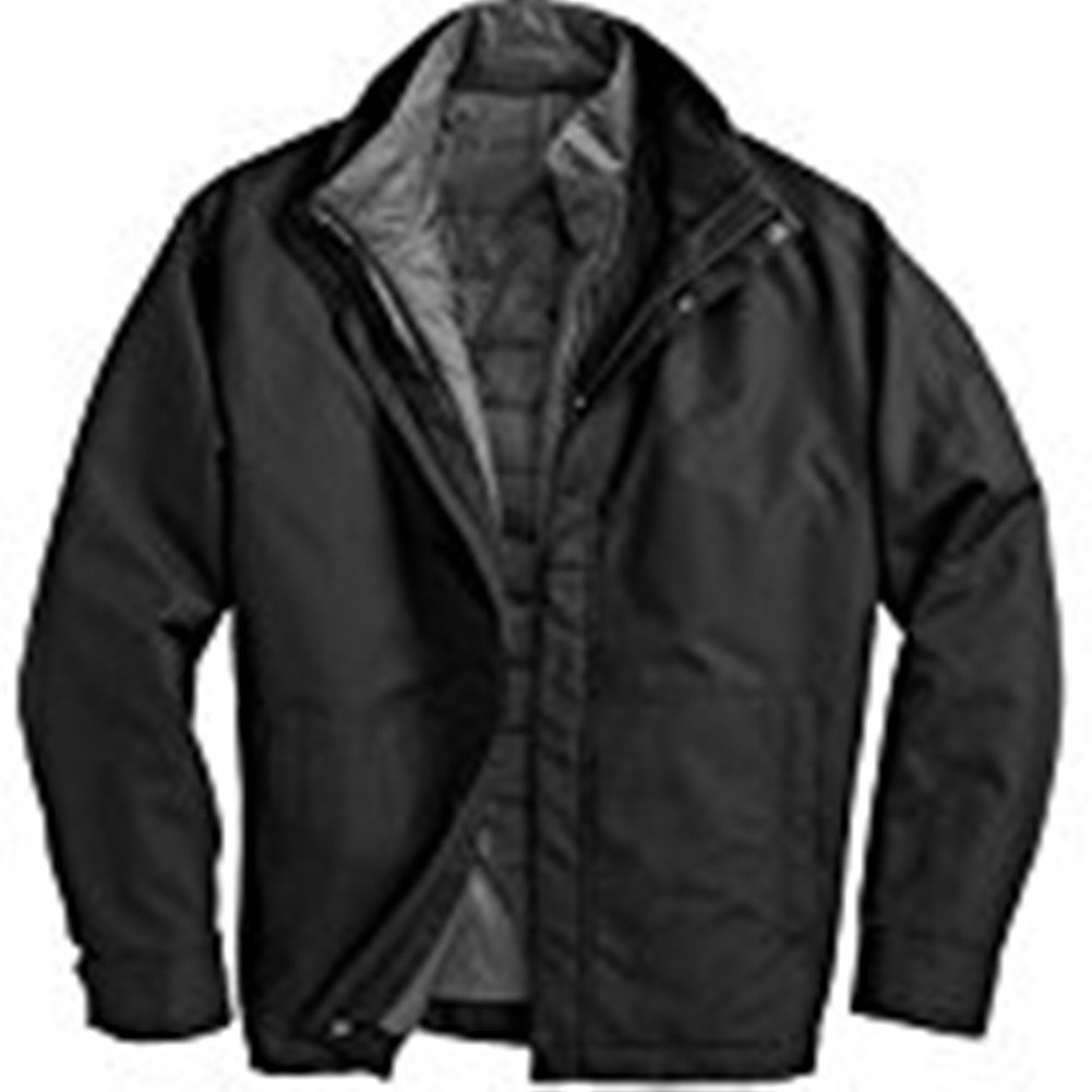 8a1ec7fae16e Weatherproof Systems Jacket With Puffer Liner - Black - Large ...
