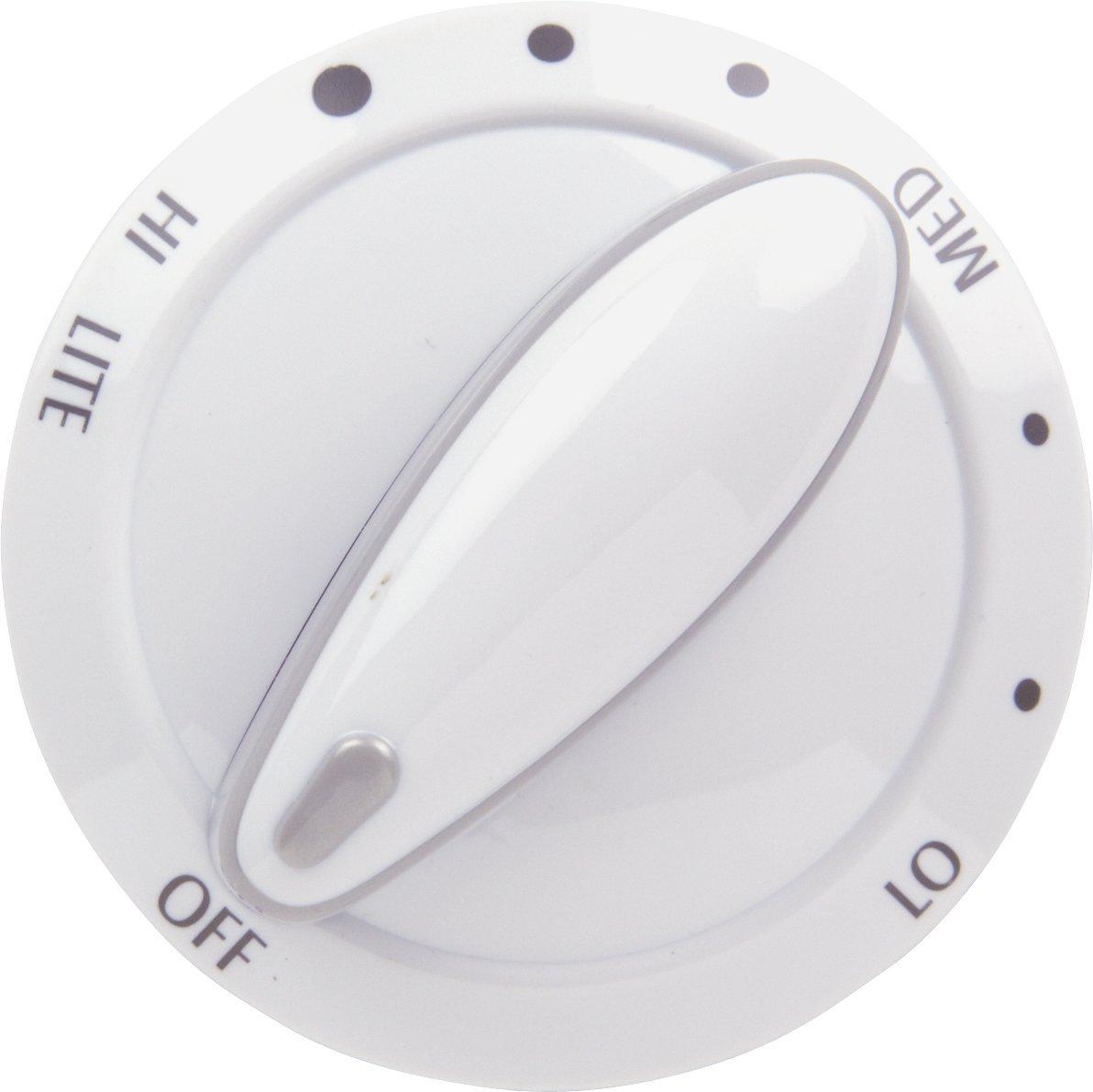 Whirlpool 74011276 Control Knob Burner, Top