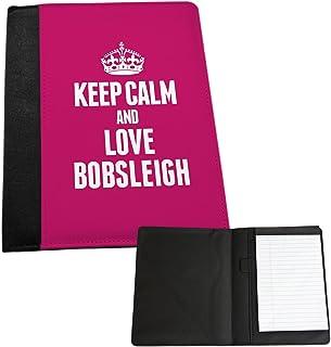 Rose keep calm and love Bobsleigh Medium Notepad 1703
