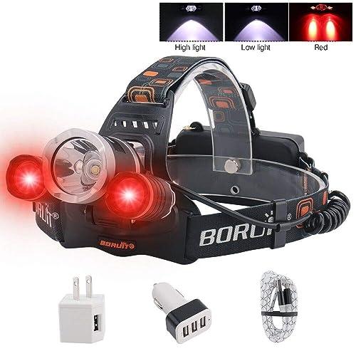 BORUIT LED Headlamp