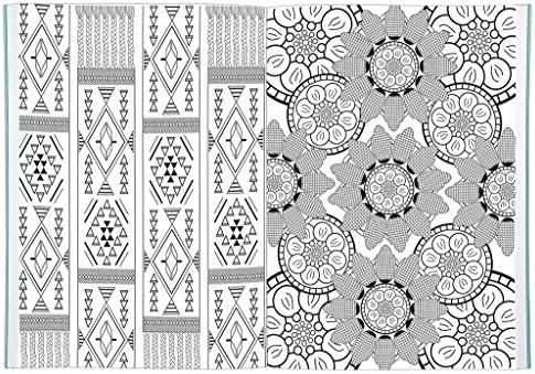 Stoff Afrikanisch Ethno Muster Baumwollstoff