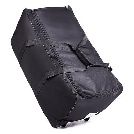 OOSAKU Bolso de Viaje Grande del Cochecito, Equipaje de Ruedas Rolling Wheeled Holdall Bags Plegable para el Asiento de Carro del Coche Seat Gate ...
