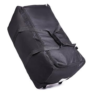 OOSAKU Bolso de Viaje Grande del Cochecito, Equipaje de Ruedas Rolling Wheeled Holdall Bags Plegable para el Asiento de Carro del Coche Seat Gate Check ...