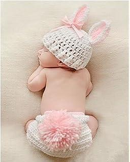 AccessoryStation® Mode unisexe nouveau,né garçon et fille Crochet tricoté  Tenues bébé Costume Set