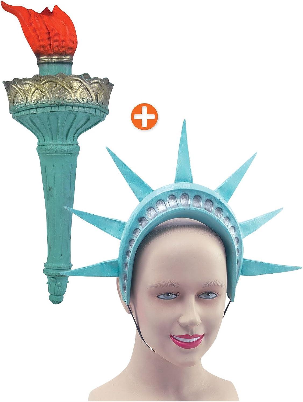 Linterna de baño de Mujer estatua de la libertad y cinta para la ...