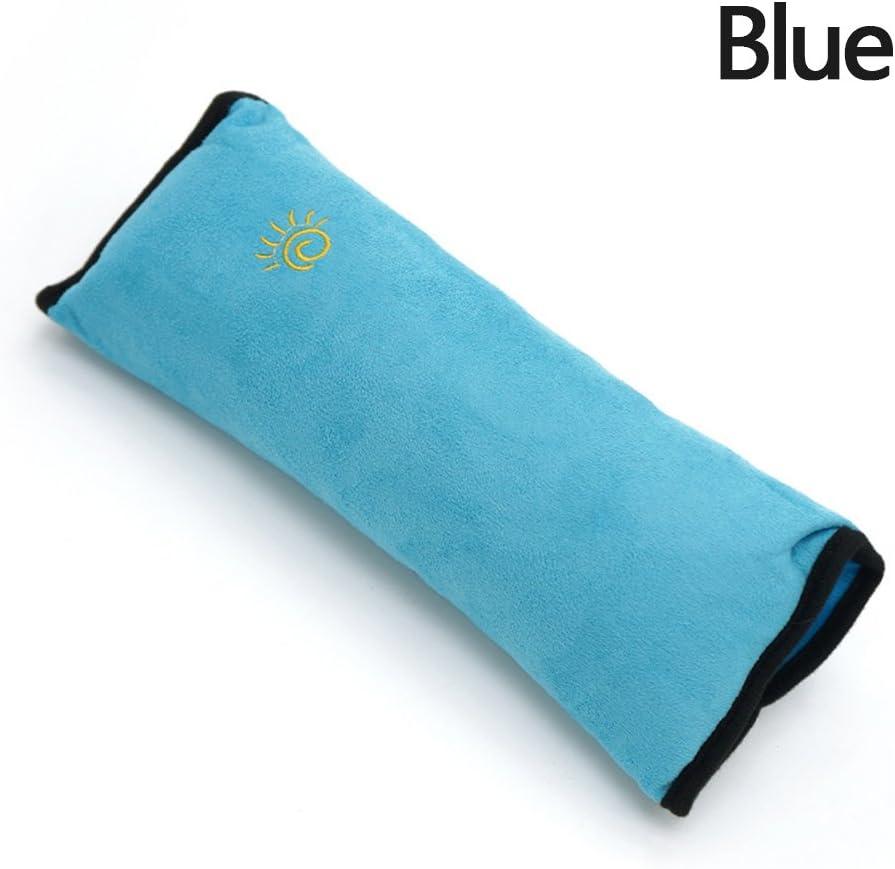 Blackr seggiolino auto cintura cuscino per bambini veicolo spalla cinghia di sicurezza schermo morbido cuscino auto cintura di sicurezza poggiatesta poggiatesta per bambini Baby