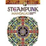 Creative Haven Steampunk Mandalas Coloring Book (Creative Haven Coloring Books) 5