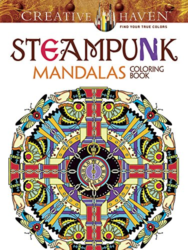 Price comparison product image Creative Haven Steampunk Mandalas Coloring Book (Adult Coloring)
