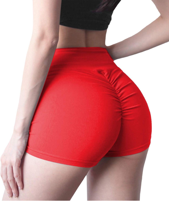 DUROFIT Mallas Cortos Mujer Fitness Deportivos Pantalones Cortos Deportivos En Forma de Panal Shorts Deporte de Yoga Running