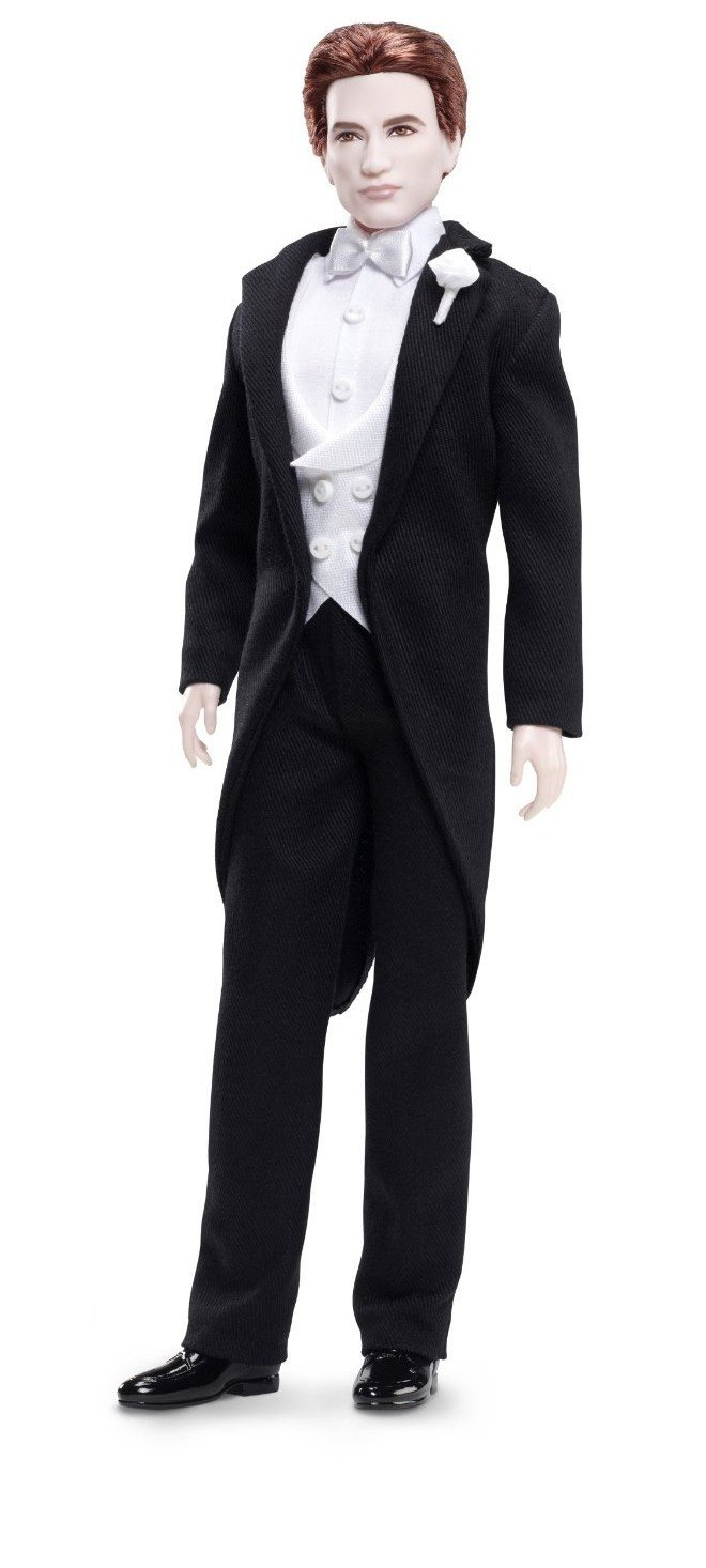 Barbie Collector Twilight Breaking Dawn Edward Doll Mattel T7652