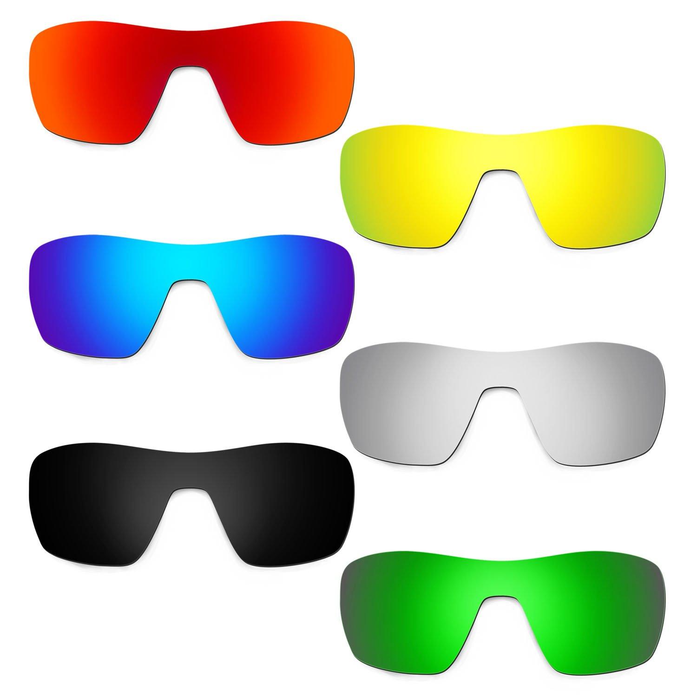 Hkuco 交換用レンズ Oakley Offshoot - 偏光  レッド/ブルー/ブラック/ゴールデン/チタンカラー/グリーン B01M70QHIV