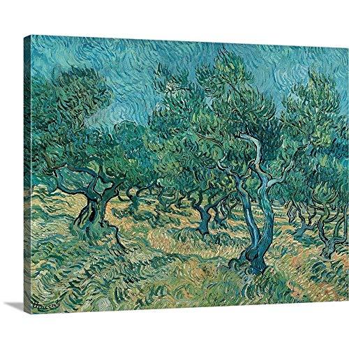Vincent Van Gogh Premium Thick-Wrap Canvas Wall Art Print entitled The Olive Grove 20