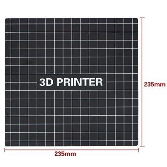 Impresora 3D Construir superficie 235 mm para Creality Ender 3 ...