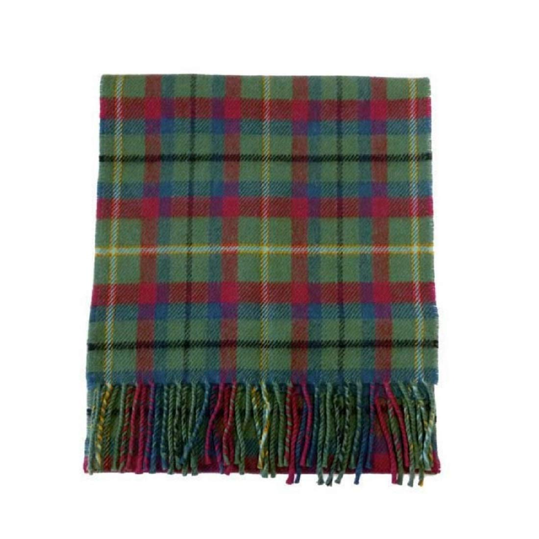 USA Kilts Irish County Mayo Wool Tartan Plaid Scarf Made in Scotland