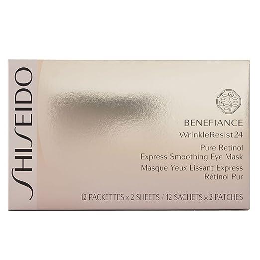9 opinioni per Shiseido Benefiance WrinkleResist24 esprimere levigante 12 pezzi di occhio