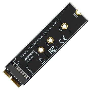 JMT M Key M.2 NGFF PCIe SSD Adaptador de Tarjeta para ...