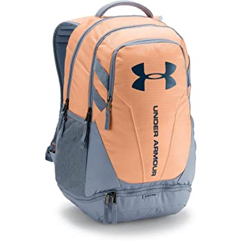 413a81b6f3 Under Armour - Unisex Hustle 30 Backpack, O/S, PEACH HORIZON/WASHED