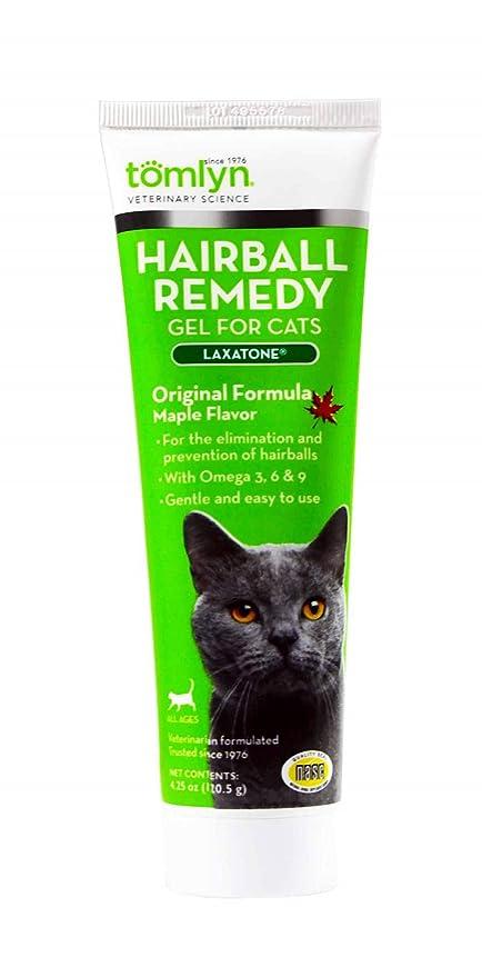 Vetoquinol tomlyn Hairball Remedy Gel para Gatos, Arce, con ...