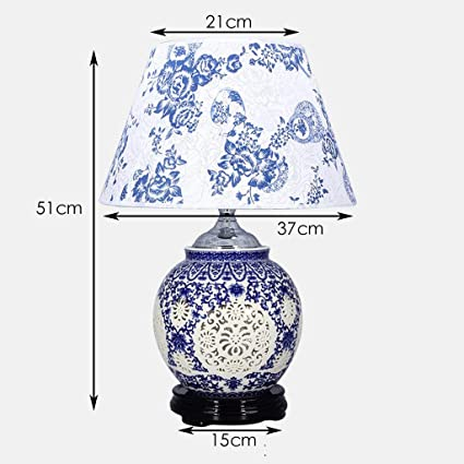 Amazon.com: PLLP Household Table Lamp, Bedside Lamp,Bedside Table ...