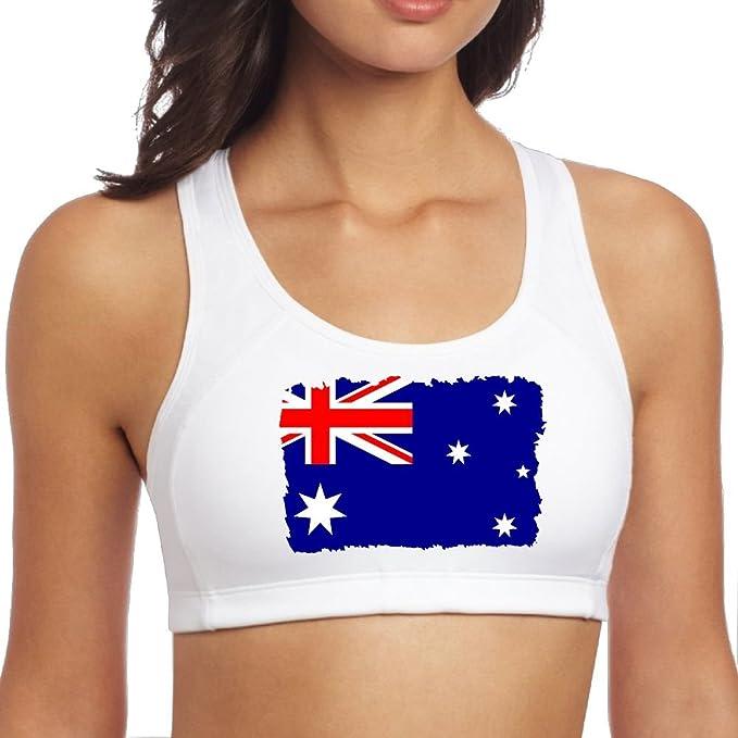 Amazon.com: ZJJZ39-W - Camiseta de yoga con bandera ...