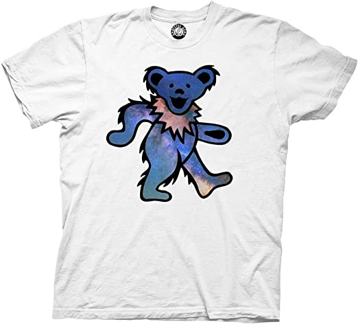 Ripple Junction Grateful Dead Space Bear Adult T-Shirt