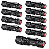 J5 Tactical V1-Pro Flashlight (10 Pack) The Original 300 Lumen Ultra Bright, LED 3 Mode Flashlight …