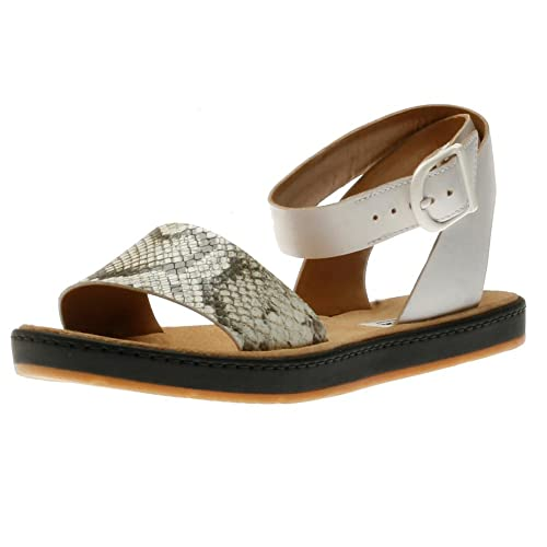 6e47a63df Clarks Women s Romantic Moon Ankle Strap Fashion Sandals Natural Snake 9  B(M) US  Buy Online at Low Prices in India - Amazon.in
