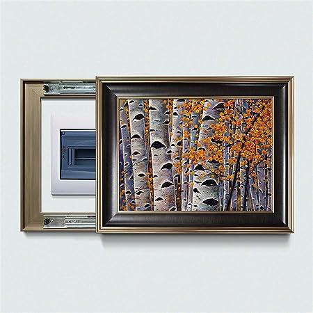 YUMUO Caja de medidor Pintura Decorativa,Tapa de la Caja de distribución Puede Empuje y Tire Pintura Cubierta de salón murales para energía eléctrica de la Caja hx1095-C 48x38cm(19x15inch): Amazon.es: Hogar