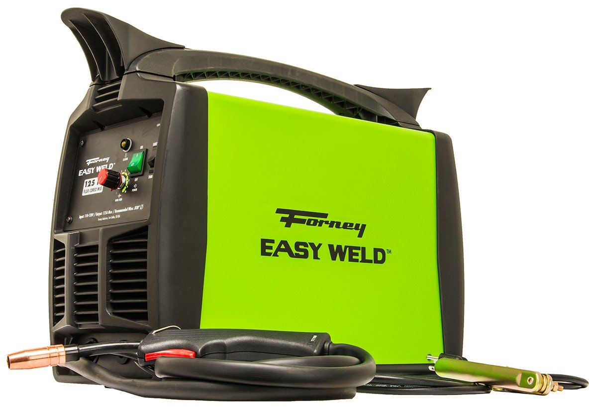 Forney Easy Weld 299 125FC Flux Core Welder, 120-Volt, 125-Amp - -  Amazon.com