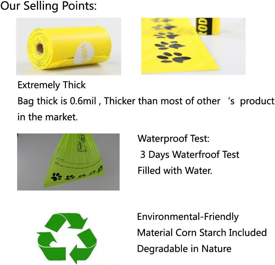 Kumoya - Bolsas biodegradables para excrementos de perro, hechas ...