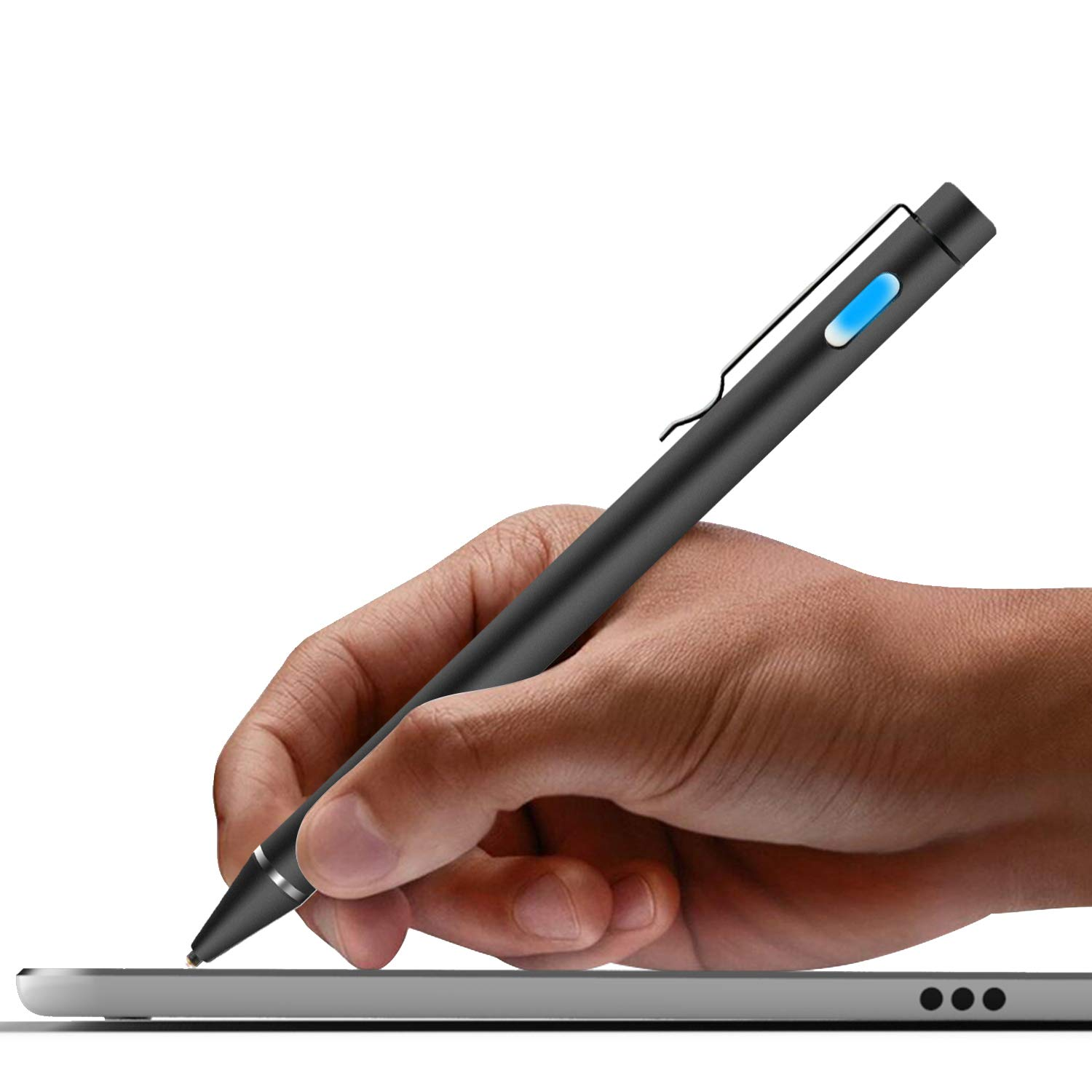 premium selection 5ef5c 5f908 High-Precision Stylus Pen with 1.6mm Fine Tip for iPad/iPhone X/8/8 Plus,  Compatible with Samsung Tablets and Other Capacitive Touch Screen Devices,  ...