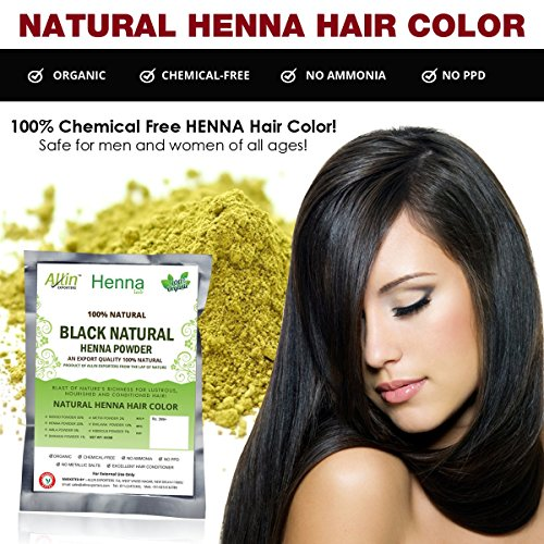 All Natural Chemical Free Hair Color