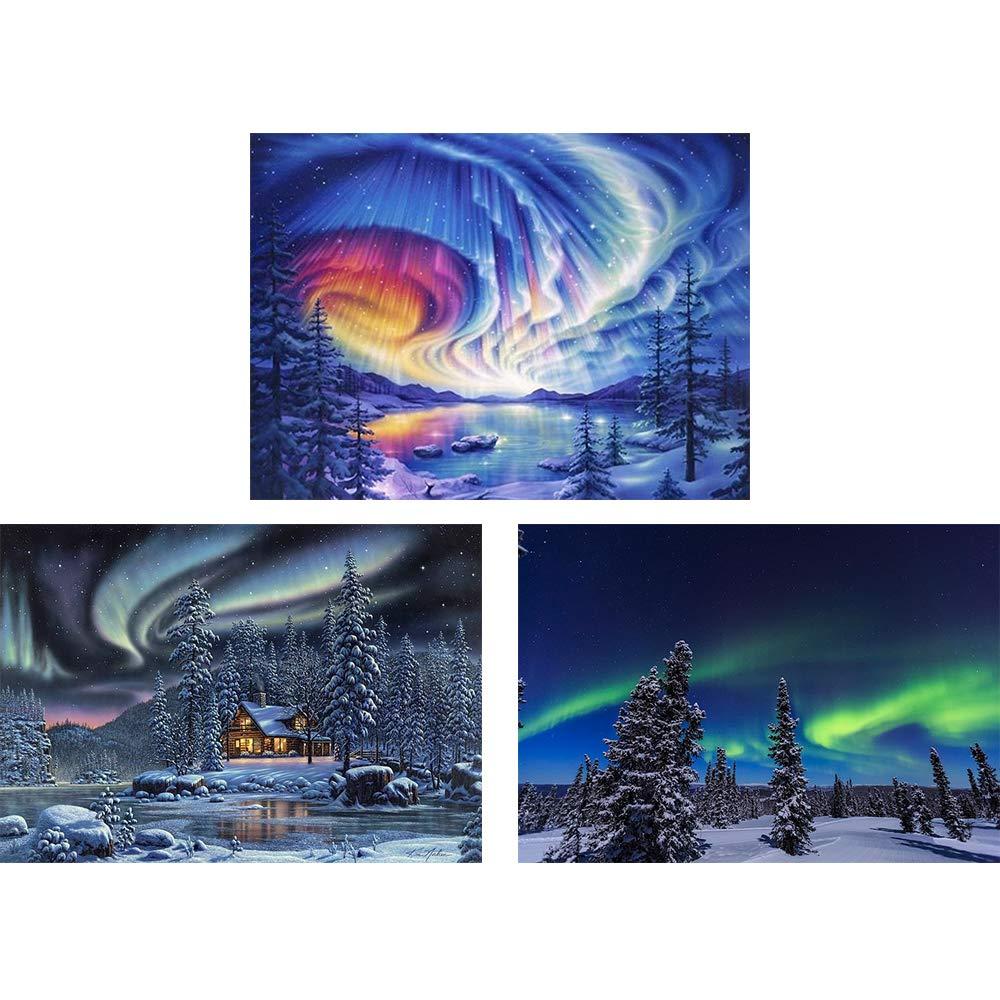 3 Pinturas por Diamantes Kit Completo - 82HMGY8X