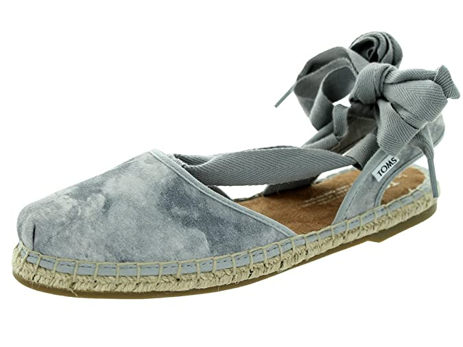 Amazon.com | Toms Womens Bella Espadrille Dove Grey Sandal 7 Women US | Shoes