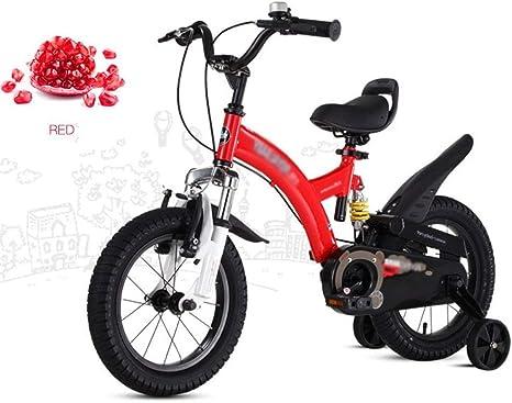 LPYMX Bicicleta para niños Amortiguador de Bicicleta para niños ...