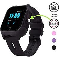 BINDEN Reloj Rastreador Inteligente FA28 GPS Red móvil 4G Micro SIM Llamadas y Videollamadas Botón SOS Agenda Localizador, para Niños y Adultos Mayores