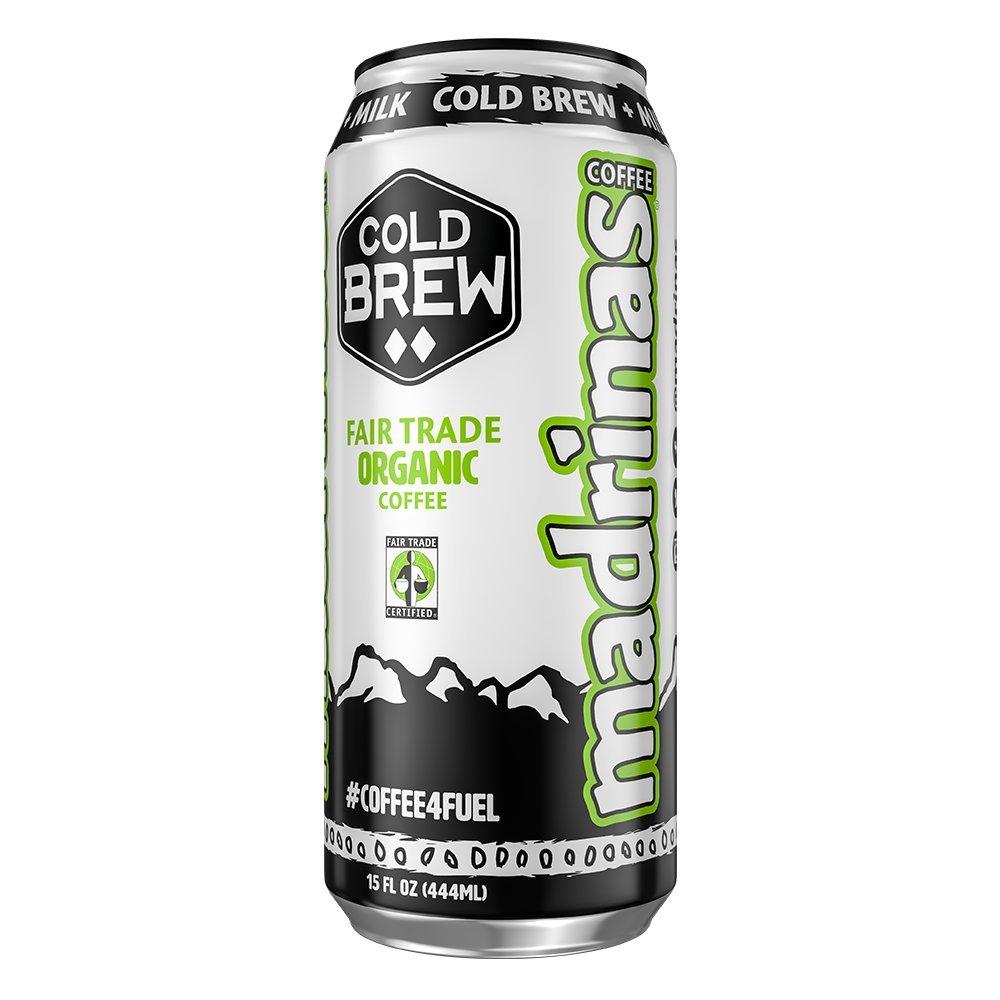 Madrinas Coffee Cold Brew Plus Milk - 15 Oz, Case of 12 CBM