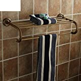 CWJ Shelf-European Bathroom Towel Rack/Retro Bathroom Towel Rack/Bathroom Shelves-A