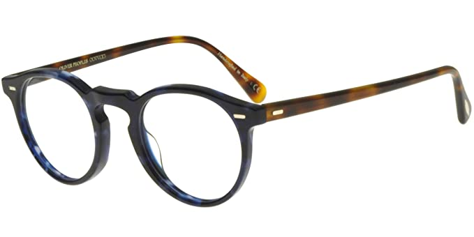 235bfc5044d89d Oliver Peoples - GREGORY PECK OV 5186, Round acetate unisex  Amazon ...
