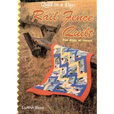 Rail Fence Quilt for Kids at Heart: Arts, Crafts & Sewing