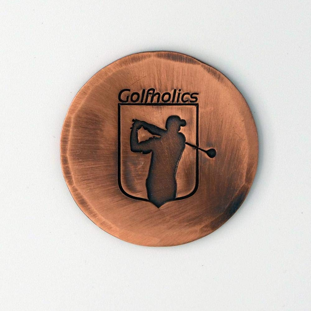 Golfholics シーマスボールマーカー 銅仕上げ   B07L2HJW9P
