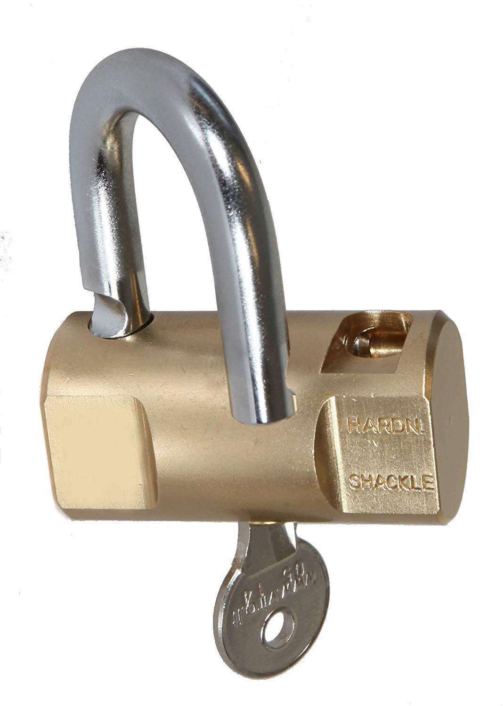 Incluye 3 llaves Candado de Alta Seguridad 60 MM Material de Alta Calidad Acero Inoxidable EUROXANTY/® Candado Cil/índrico de Alta Resistencia