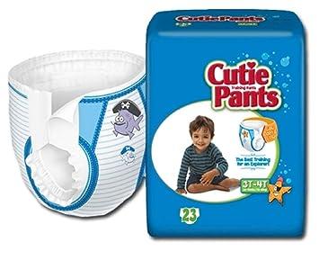 18baec07e7cba Amazon.com   Cuties® Training Pants for Boys - Case 92 (3T - 4T - Boys (32  - 40 lbs.))   Baby