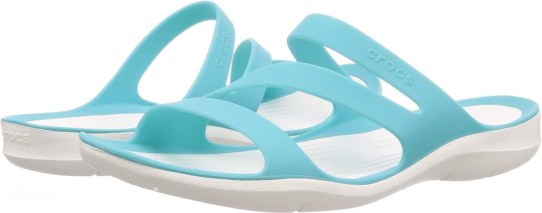 Crocs Womens Swiftwater Sandal Slide Sandal