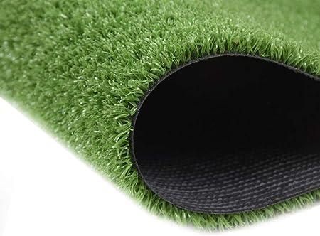 BYCDD Césped de Hierba Artificial para el jardín, 15mm Realista Césped Alfombra Césped Artificial Rollo No Tóxico Hierba Artificial Muchos tamaños,Green_4x4m/12x12ft: Amazon.es: Hogar