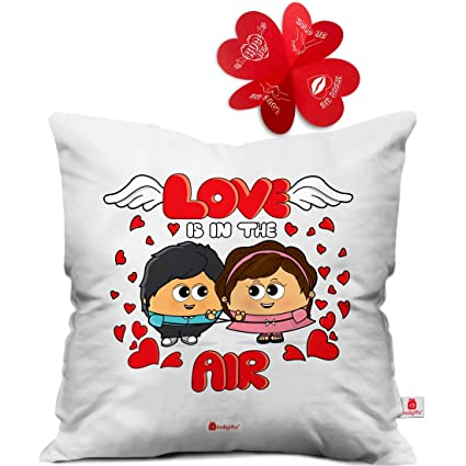 Buy Indigifts Valentine Day Love Is In The Air Quote Romantic Cute