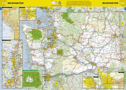 Amazon.com: National Geographic Road Atlas - Adventure Edition ...